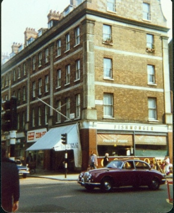 The Fishmonger's at Marchmont street in 1977